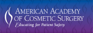 American Academy of Cosmetic Surgery Badge